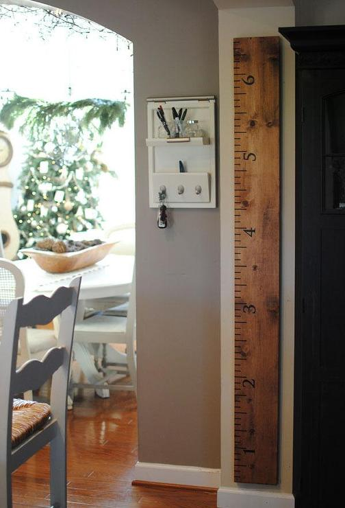 Art/Wall Decor - Dear Lillie ���?? Oversized Ruler Growth Chart - ruler, growth, chart