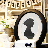 Art/Wall Decor - Dear Lillie ??? Jane Austen Silhouette Cardstock Set - jane austen, silhouette