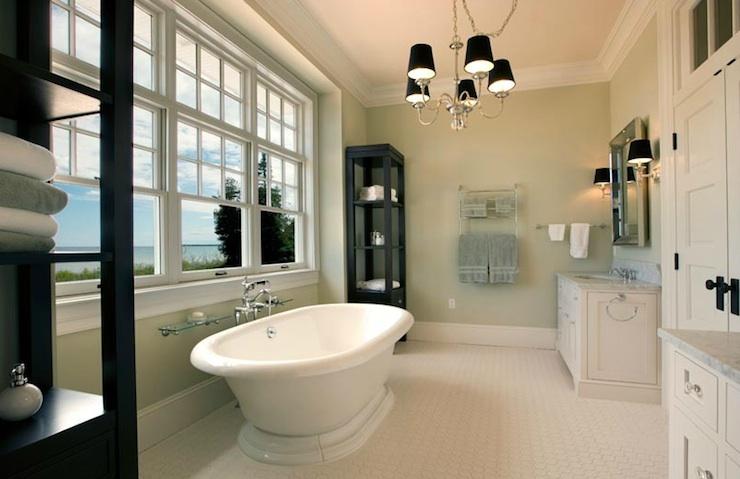 Bathroom Etageres: Mitch Wise Design