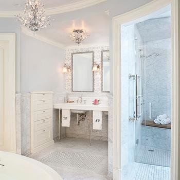 Glamorous Bathroom, Contemporary, bathroom, Mahogany Builders