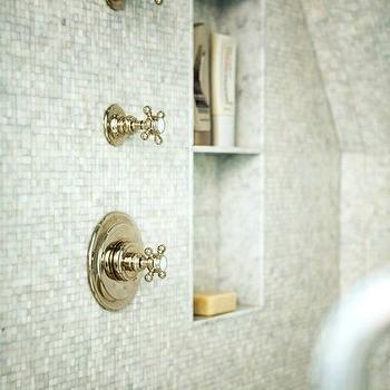 Shower Niche, Transitional, bathroom, Sage Design