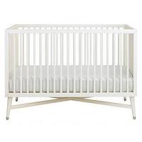 Beds/Headboards - Century Crib | Wee - mid-century, crib, French, white