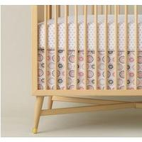 Bedding - Zinnia Rose Crib Skirt - Crib Skirts - Bedding | Wee - zinnia, rose, crib, skirt