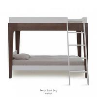 Beds/Headboards - Perch Bunk Bed Walnut Finish - Youth Furniture - Furniture | Wee - perch, buk, beds, walnut