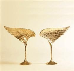 Decor/Accessories - Gold Chariots of Fire Wings - Left and Right Sides - gold, chariots of fire, wings
