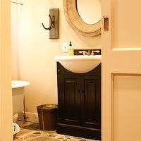 Traditional Bathroom Benjamin Moore Black Jack House Home