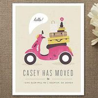 Decor/Accessories - Mod Move Moving Announcements by Kristen Smith at Minted.com - moving, announcement