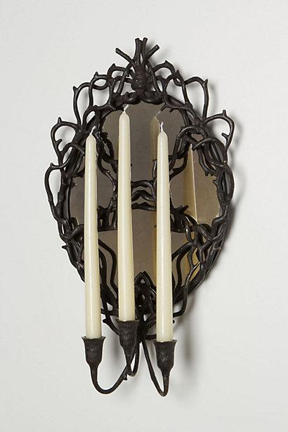 Decor/Accessories - Forest Crest Triple Sconce - Anthropologie.com - forest, crest, triple, sconce