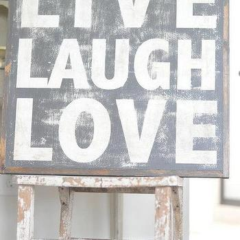 Art/Wall Decor - Live Laugh Love Sign by BetweenYouAndMeSigns on Etsy - art