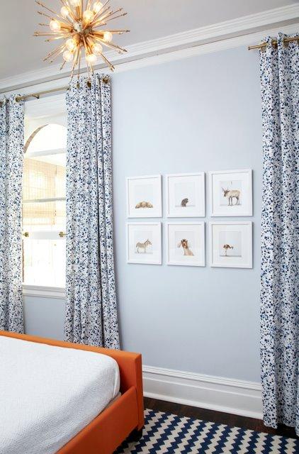 Blue Chevron Rug Contemporary Boy S Room Amie Corley