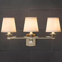 Bath - Campaign Triple Sconce | Bath Sconces | Restoration Hardware - campaign, triple, sconce