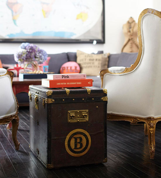 Lv Trunk Coffee Table: Vintage Louis Vuitton Trunk