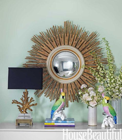 Pretty Bedroom Paint Colors Wallpaper For Bedroom Walls Designs Vintage Gold Bedroom Accessories Masculine Apartment Bedroom: Gold Sunburst Mirror