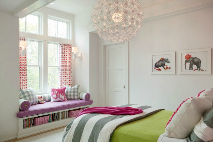 Ikea Chandelier - Contemporary - girl's room - Liz Caan Interiors