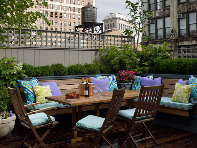 Roof Top Deck Contemporary deck patio Fawn Galli