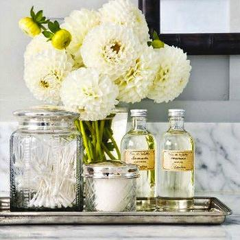 Vintage Apothecary Jars, Traditional, bathroom, This is Glamorous
