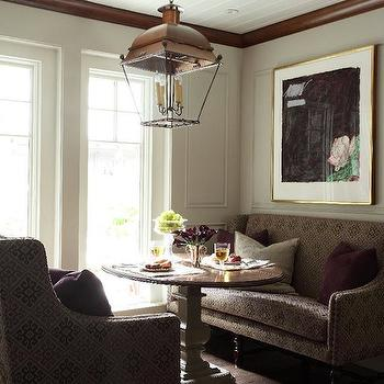 Dining Settee Bench, Transitional, dining room, Liz Caan Interiors