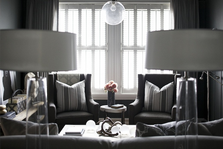 black living room contemporary living room emily