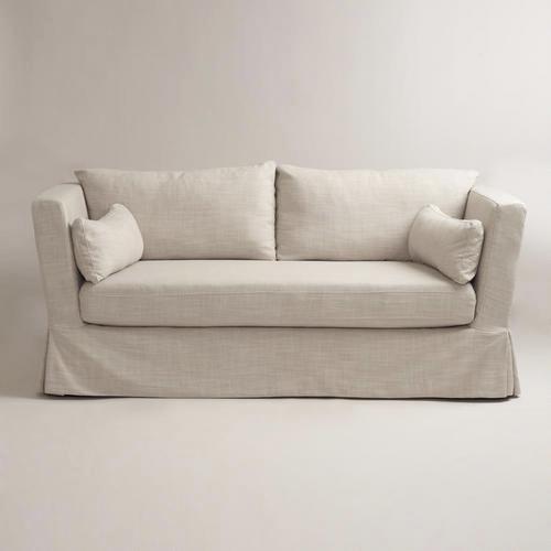 Fabulous 28 Linen Sofa Slipcover Washable Linen Loveseat Pabps2019 Chair Design Images Pabps2019Com