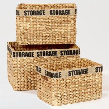 Decor/Accessories - Hayden Storage Baskets | World Market - hayden, storage, baskets