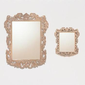 Mirrors - Isla Carved Mirror Collection | World Market - isla, carved, mirror