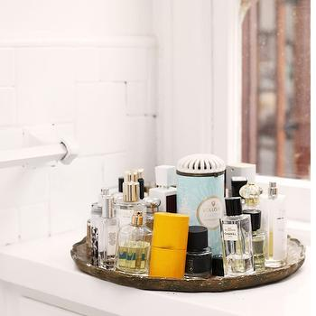 Mirrored Tray, Contemporary, bathroom, The Glitter Guide