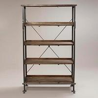 Storage Furniture - Emerson Shelf with Step | World Market - emerson, shelf