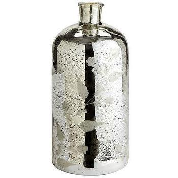 Decor/Accessories - Mercury Glass Etched Jar - Pier1 US - mercury, glass, etched, jar