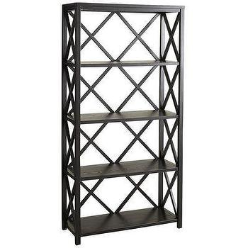 Eliott Tall Shelf Black, Pier1 US