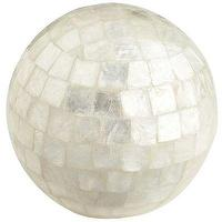 Decor/Accessories - Mosaic Capiz Shell Sphere - Pier1 US - mosaic, capiz, shell, sphere