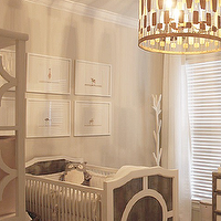 Rock Paper Scissors - nurseries - ducud crub, regency crib, gray crib, gray regency crib, white and gray crib, white and gray nursery crib, sharon montrose prints, the animal print shop, white curtains, white drapes, restoration hardware curtains, restoration hardware drapes, horchow chandelier, brass drum chandelier, geometric drum chandelier, tree coat rack, west elm coat rack, white and gray nursery, white and gray nursery design, ducduc Regency Crib, The Animal Print Shop Print, Serena & Lily Hayworth Shelf,