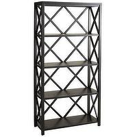 Storage Furniture - Eliott Tall Shelf Black - Pier1 US - elliott, tall, bookshelf