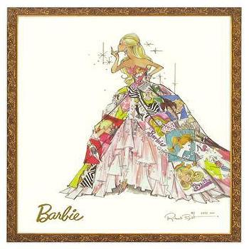 Art/Wall Decor - Art For Kids | Art - barbie, generation of dreams, art, print