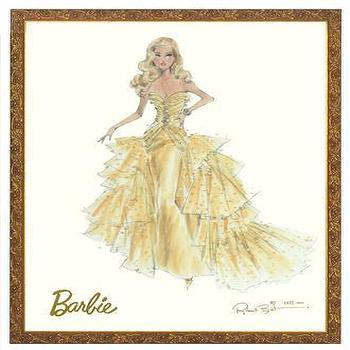 Art/Wall Decor - Art For Kids | Art - barbie, 50th anniversary, art, print