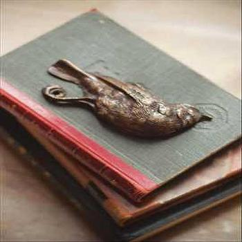 Decor/Accessories - Wooden Display Box with Drawer - bird at peace, paperweight