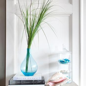 Turquoise Blue Vase, Cottage, entrance/foyer, Decor Demon