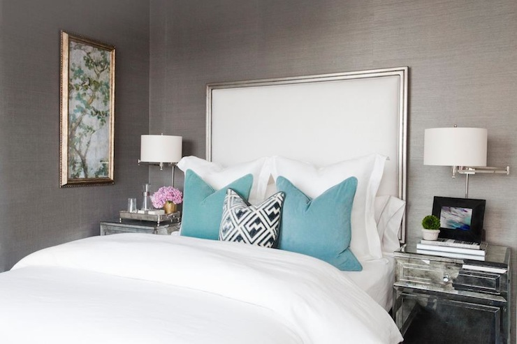 Gallery For Teal Gray Bedroom