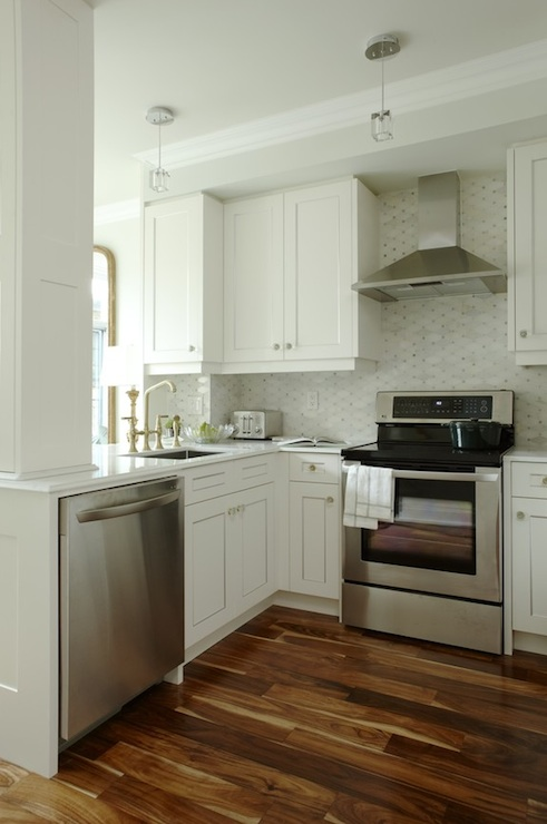 Kitchen Peninsula Transitional Kitchen Para Paints Whitecap Sarah Ric