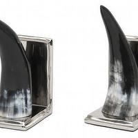 Decor/Accessories - Horn Bookends - Tabletop - Accessories | Jayson Home - horn, bookends