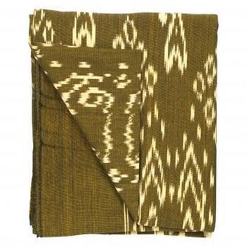 Bronze Ikat Throw, Bedding & Blankets, Accessories, Jayson Home