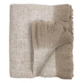 Bedding - WOOL THROW - OAT - Bedding & Blankets - Accessories | Jayson Home - oat, wool, throw