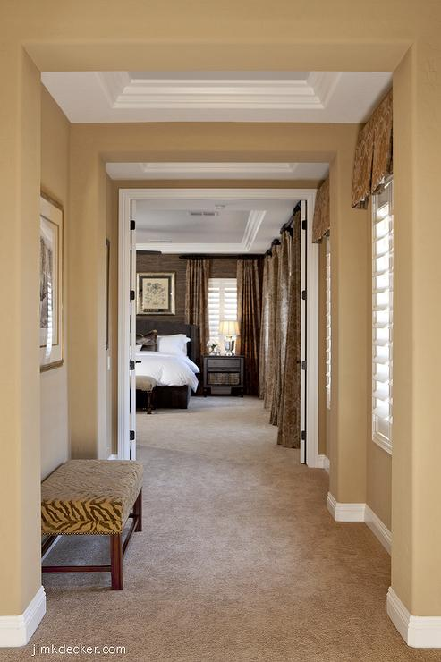 Sherwin williams latte 2017 grasscloth wallpaper for Warm neutral paint colors for dining room