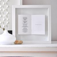 Art/Wall Decor - Wedding Vows/ Poem Framed Picture by sarahandbendrix on Etsy - framed, wedding, vows