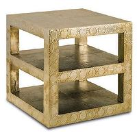 Tables - Currey & Co Djinn Table - dijnn, table