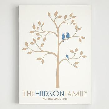 Art/Wall Decor - Family tree wall art at RedEnvelope.com - family tree, art
