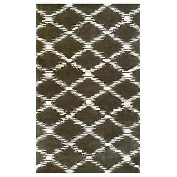 Julia Wong Scale Brown Rug