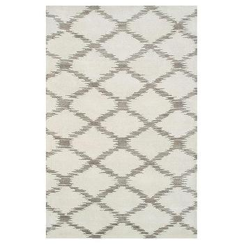 Rugs - Julia Wong Scale Cream Rug - julia wong, scale, rug, cream