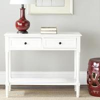 Tables - Cape Cod Cream 2-drawer Console Table | Overstock.com - white, console, table