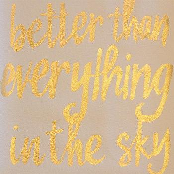 Art/Wall Decor - gilded poster better than everything in the sky by thevaguely - better than everything in the sky, gilded, poster