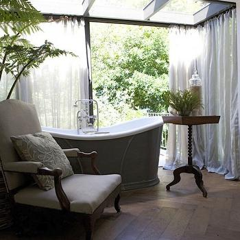 Tropical Bathroom, Cottage, bathroom, John Jacob Interiors